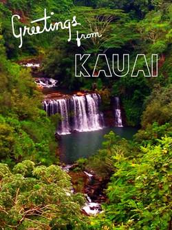 Kilauea Falls, Kauai, Hawaii