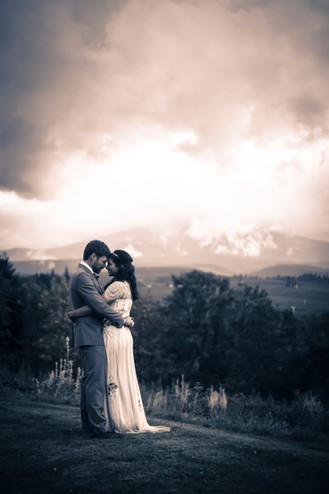 Mt. Hood Organic Farm Worldly Wedding, Ryan Ao Media Portland Wedding Videographer