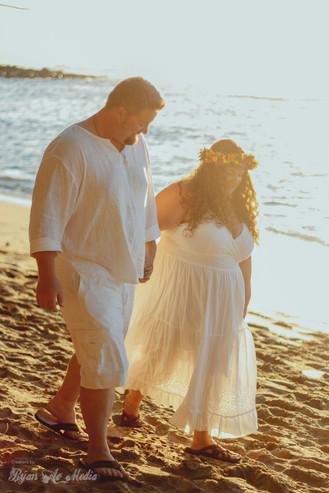 Amy and Patrick's Ke'e Beach Wedding, Ryan Ao Kauai Photographer Videographer