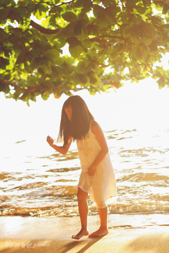 Kauai Family Portrait Photographer Beach Children