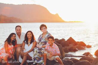 Noel Family - Hanalei Bay, Kauai Family Photgrapher Videographer
