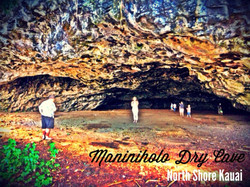 Maniholo Cave, Kee, Kauai, Hawaii
