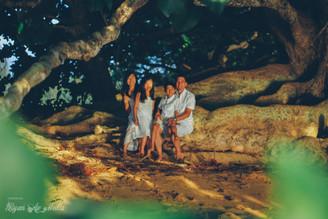 May and Family, Hanalei Bay, Ryan Ao, Kauai Photographer, Kauai Videographer