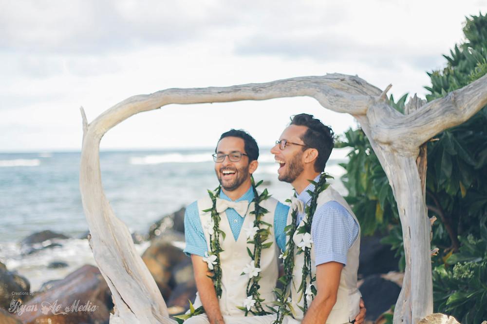 Kauai Same Sex Wedding Photographer Kauai Same Sex Wedding Videographer 11