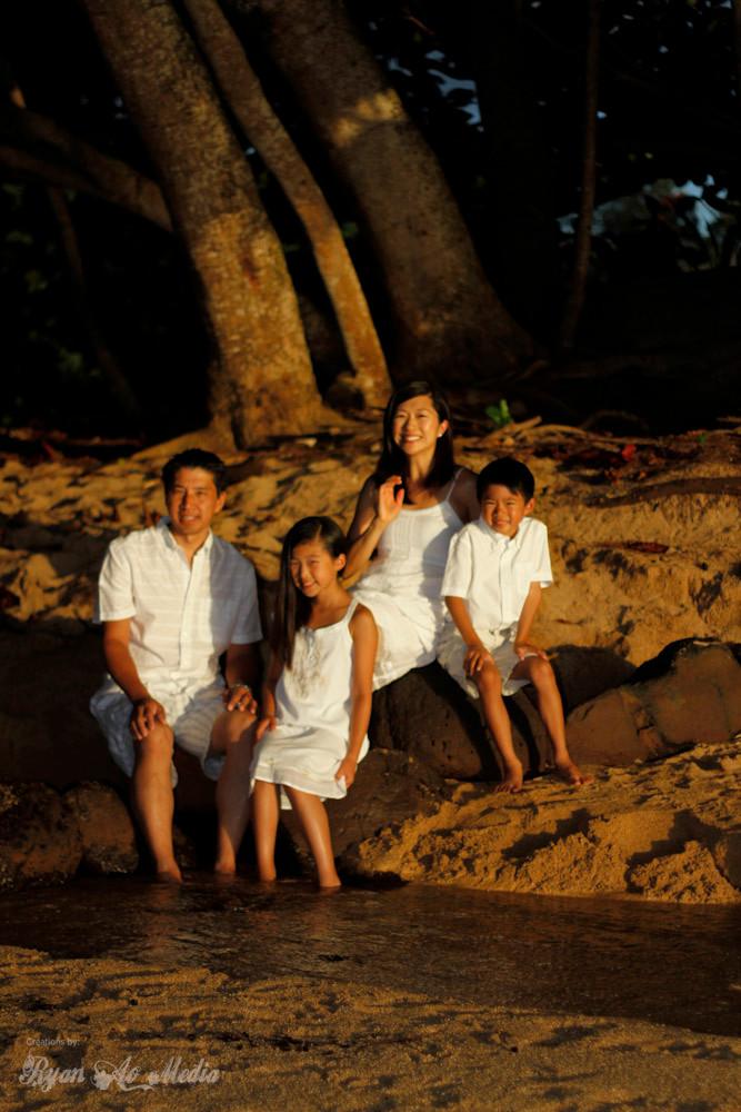 Kauai Family Portrait Photographer Princeville