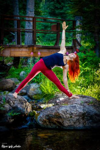 Sara's Nature Goddess Yoga Portraits, Ryan Ao Portland Photographer