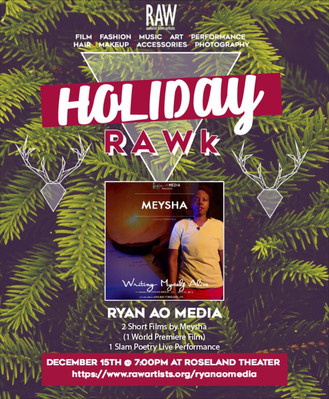 Meysha and Ryan Ao Media Premiere Film at RAW PDX Art Showcase
