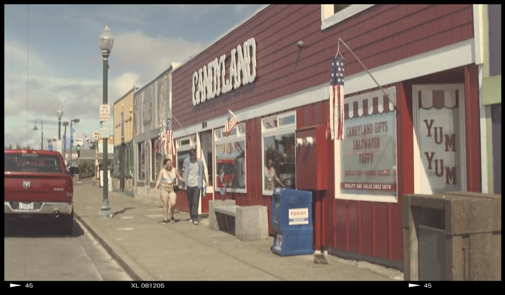 Candyland Candy Shop at Lincoln City, OR for Demi Helenius Music Video
