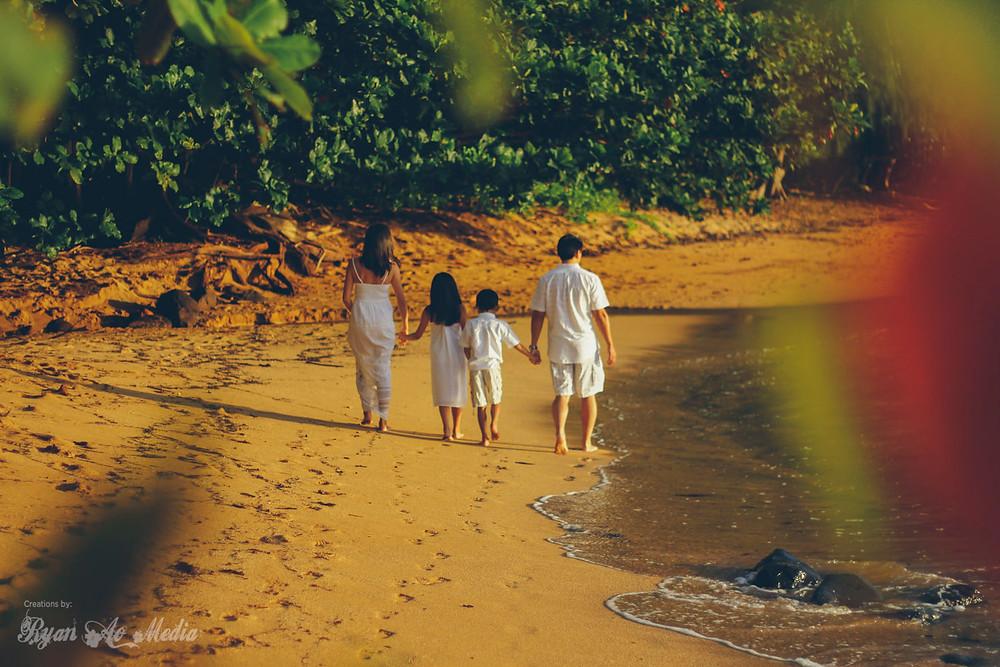 Kauai Family Portrait Photographer Northshore Kauai
