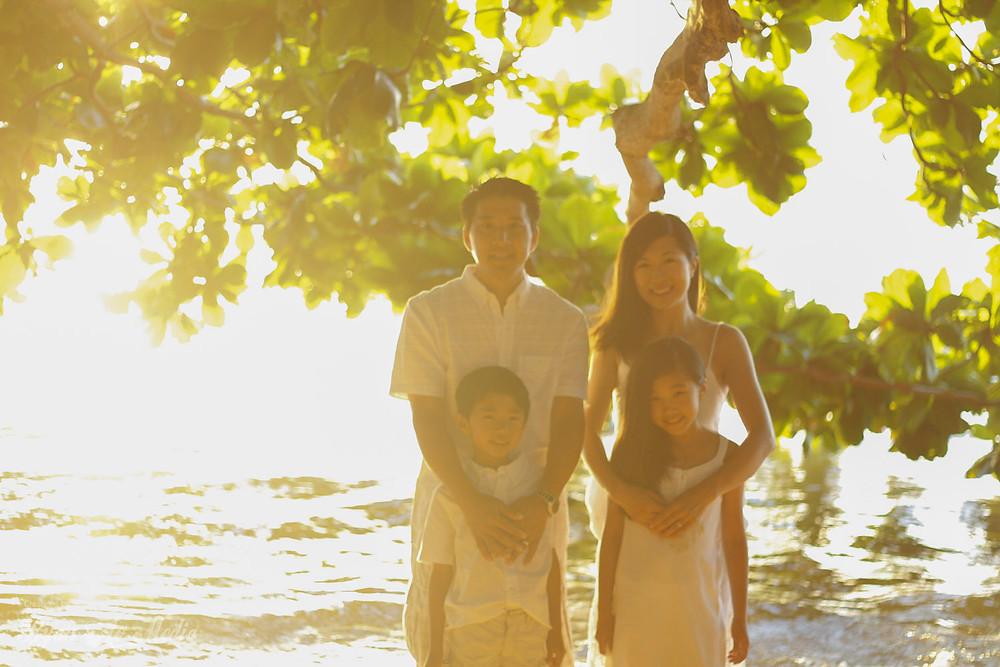 Kauai Family Portrait Photographer Sunset