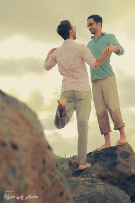 Kauai Same Sex Wedding Photographer Videographer Hawaii