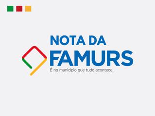 Nota da Famurs sobre os anúncios do governo do RS.