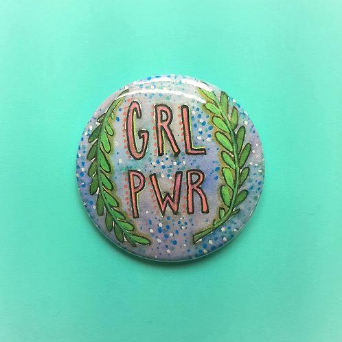 Grl Pwr Pinback Button