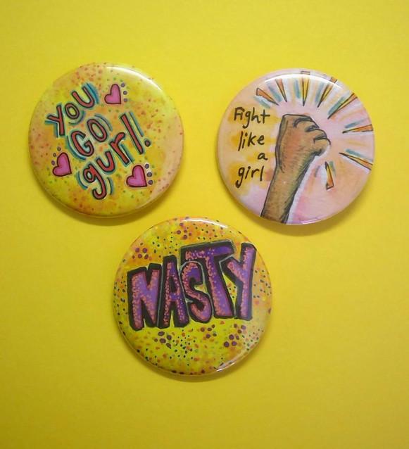 Yellow Pins