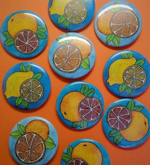 Citrus Pins