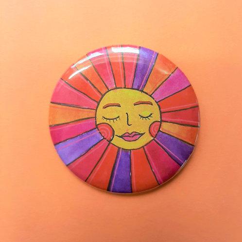 Sunshine Pinback Button