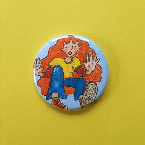 Bubble Pinback Button