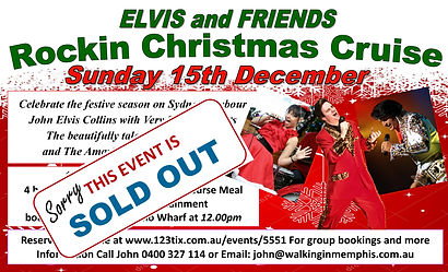 Elvis and friends ~ Rockin Christmas Cru