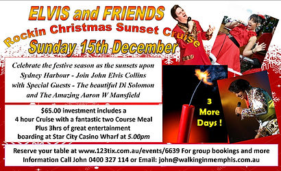 Elvis and friends ~ Rockin Christmas Sun