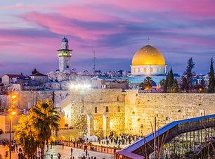 Jerusalem, Israel old city at the Wester