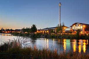 Renovated Old Industrial Riverside Build