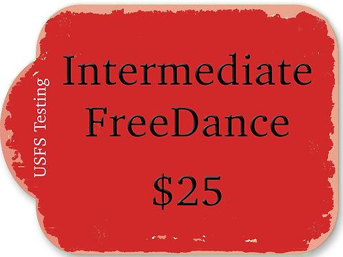 Intermediate FreeDance