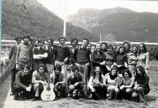 """I liceali de """"L'anno della maturità"""" 1976"""