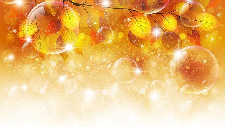 6001947-leaves-autumn-bubbles-glitters-t
