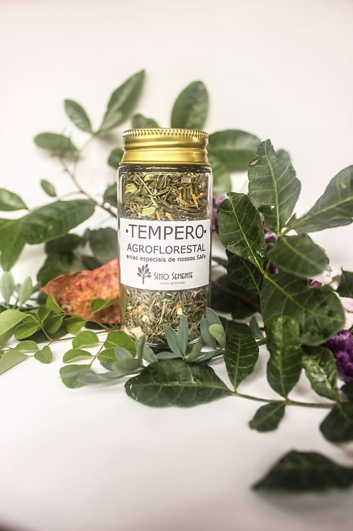Tempero Agroflorestal - Ervas finas desidratadas da nossa agrofloresta