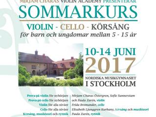 Sommarkurs 2017!