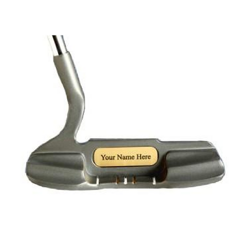 Heel And Toe Weighted Offset Weighted Putter With Free Personalization