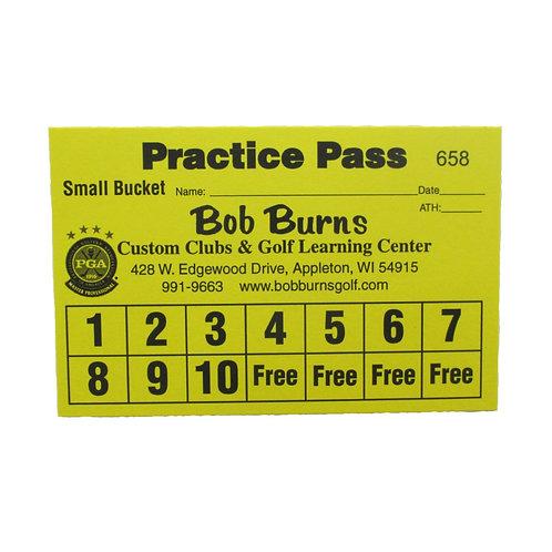 Practice Pass Small Bucket