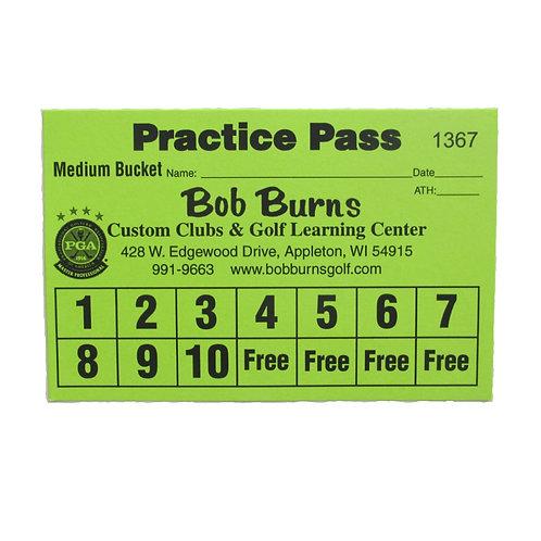 Practice Pass Medium Bucket