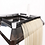 Thumbnail: Professional Hair Extension Organizer Tray With Wheels.