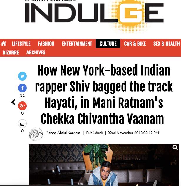Indulge New Indian Express