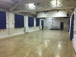 Main Hall befre new flooring was carried out