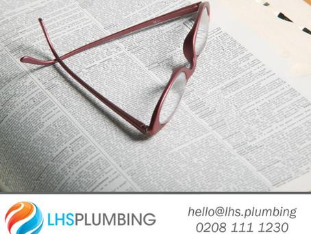 Plumbum - Latin word for lead.