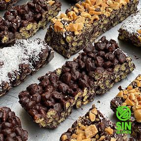 Barritas de Cereal y Chocolate