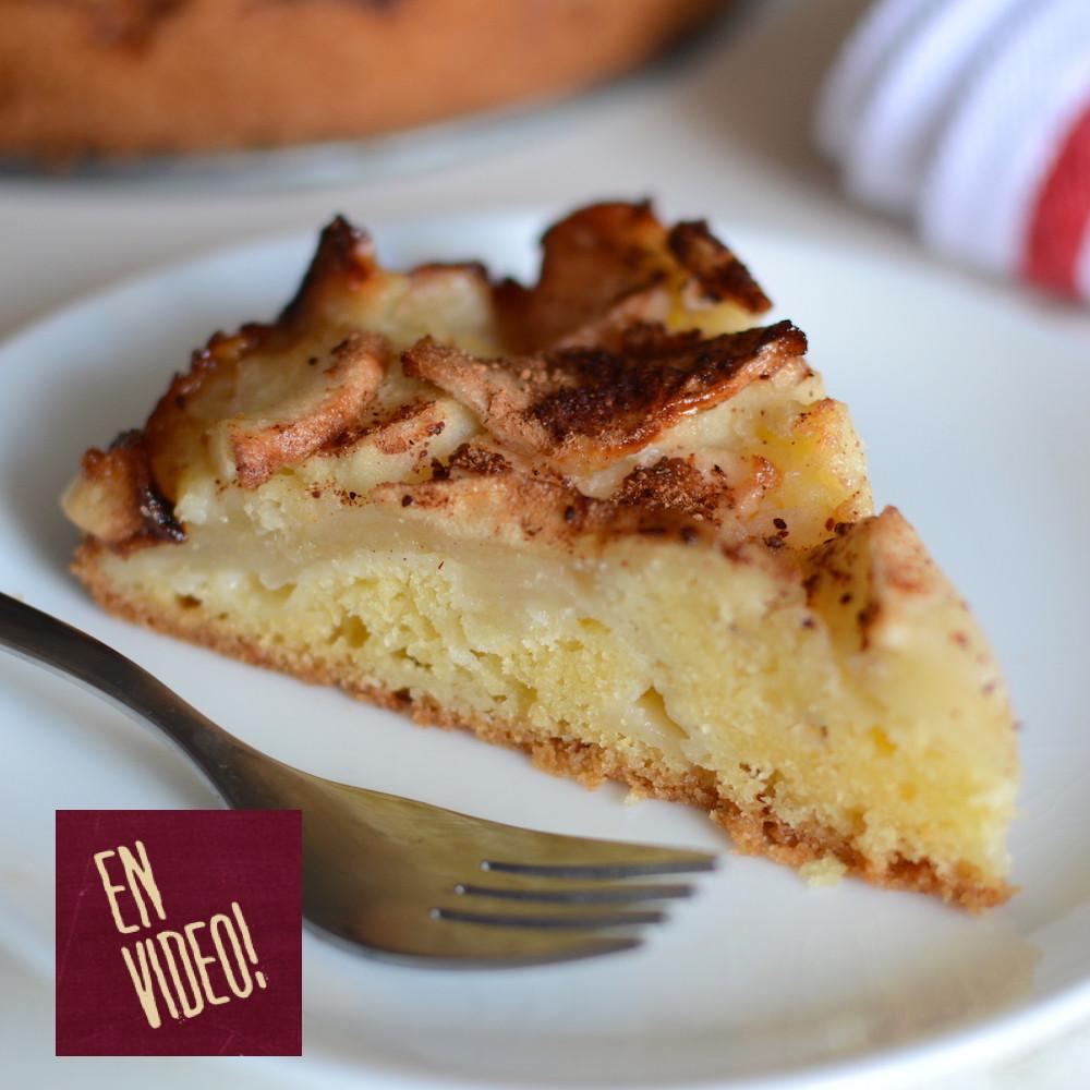 receta de Torta fácil de Manzana