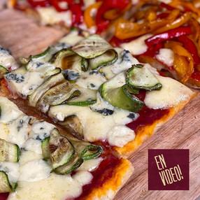Masa Para Pizza Sin Amasado - Pizza in Teglia