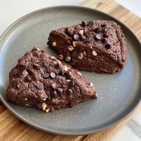 Scones de Chocolote