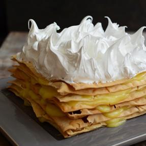 Torta Rogel de Limón