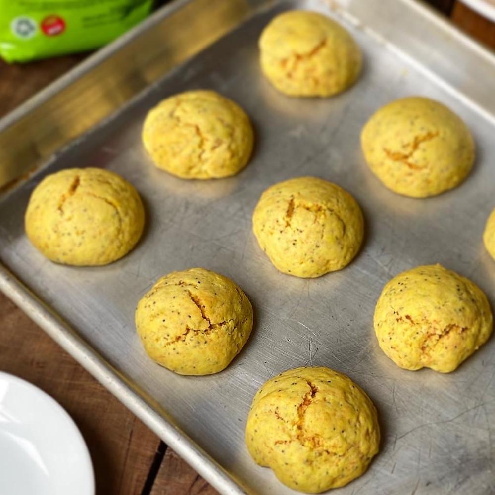 galletitas de limón y amapola