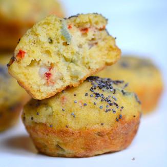 Mini Muffins de Langostinos