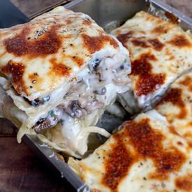 Lasaña de Hongos - Lasagna de Hongos