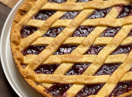 Crostata de Frambuesa - Pasta Frola de Frambuesa