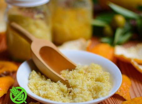 Como Conservar Ralladura de Limón, Ralladura de Mandarina y Ralladura de Naranja