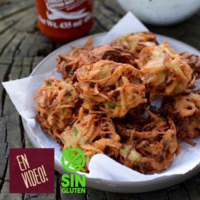 Buñuelos de Cebolla - Bhaji
