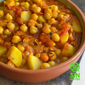 Curry de Garbanzos - Channa Masala