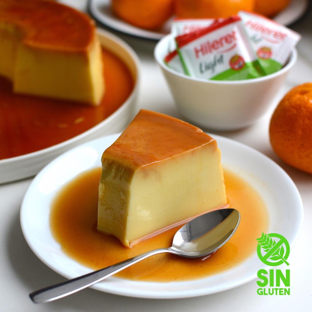 flan de mandarina